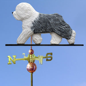 Old English Sheepdog Weathervane - Michael Park, Woodcarver