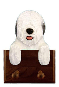 Old English Sheepdog Leash Holder