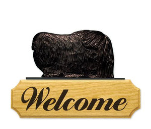 Pekingese DIG Welcome Sign
