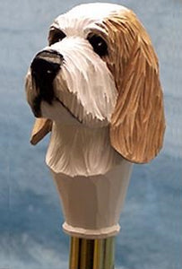 Petite Basset Griffon Vendeen Walking Stick