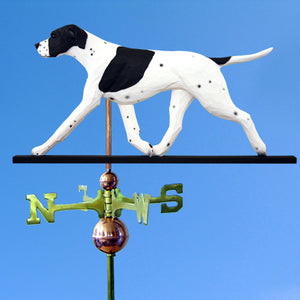 English Pointer Weathervane - Michael Park, Woodcarver