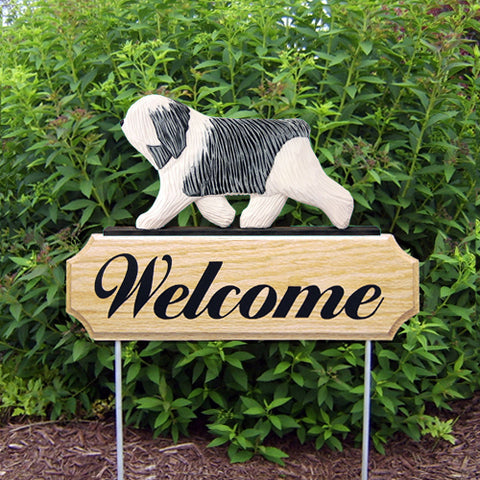 Polish Lowland Sheepdog DIG Welcome Stake