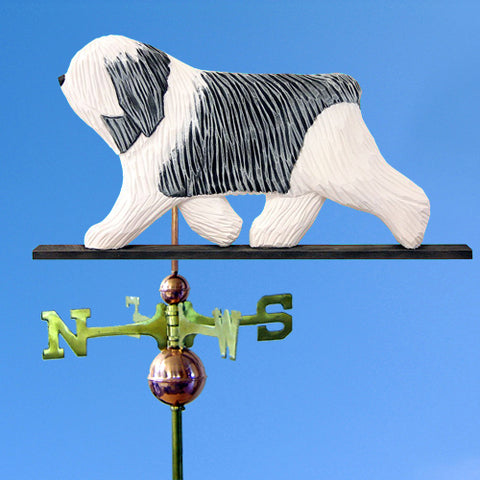 Polish Lowland Sheepdog Weathervane - Michael Park, Woodcarver