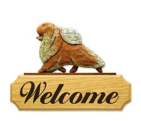 Pomeranian DIG Welcome Sign