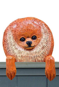 Pomeranian Powderpuff Door Topper