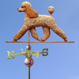 Poodle Weathervane - Michael Park, Woodcarver