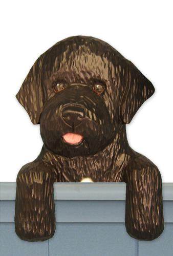 Portuguese Water Dog Door Topper