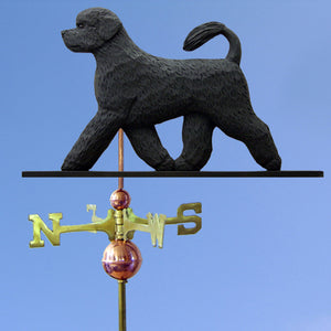 Portuguese Water Dog Weathervane - Michael Park, Woodcarver
