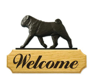 Pug DIG Welcome Sign