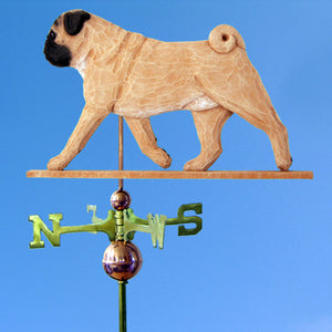 Pug Weathervane - Michael Park, Woodcarver