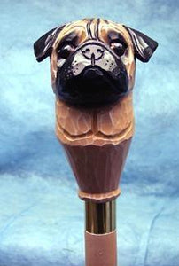 Pug Walking Stick