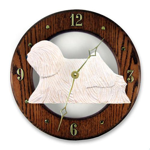 Puli Wall Clock - Michael Park, Woodcarver