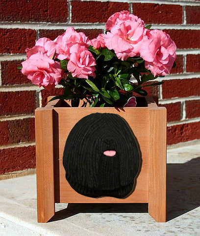 Puli Planter Box - Michael Park, Woodcarver