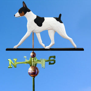 Rat Terrier Weathervane - Michael Park, Woodcarver