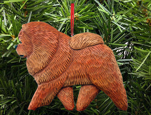 Chow Chow Dog DIG Ornament