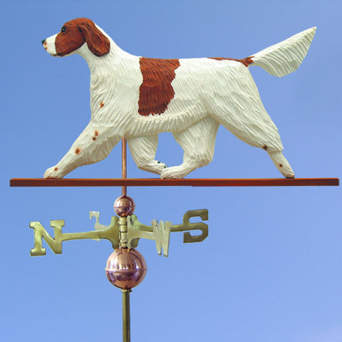 Irish Red and White Setter Weathervane - Michael Park, Woodcarver