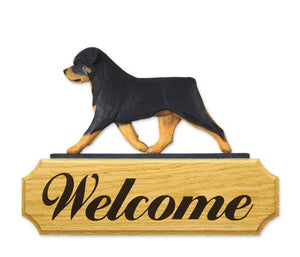Rottweiler DIG Welcome Sign