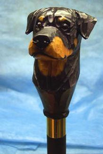 Rottweiler Walking Stick