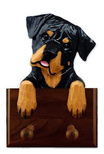Rottweiler (Silly) Leash Holder