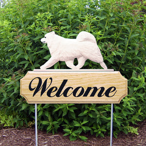 Samoyed DIG Welcome Stake