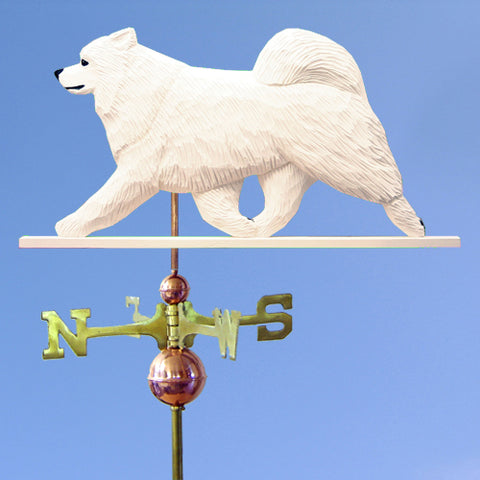 Samoyed Weathervane - Michael Park, Woodcarver