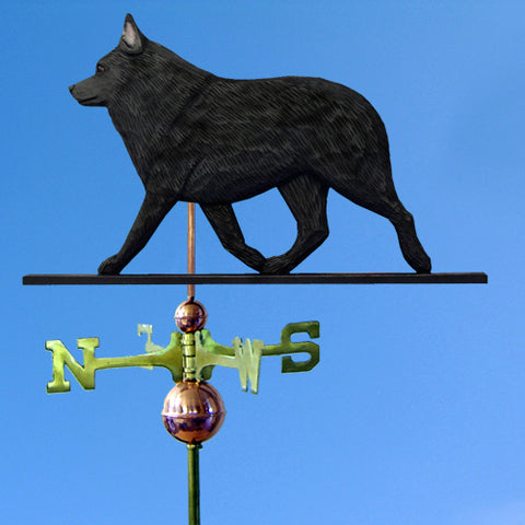 Schipperke Weathervane - Michael Park, Woodcarver