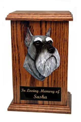 Schnauzer (Miniature) Memorial Urn