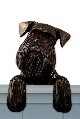 Schnauzer (Natural) Door Topper