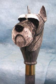 Schnauzer (Miniature) Walking Stick
