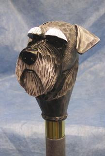 Schnauzer Walking Stick