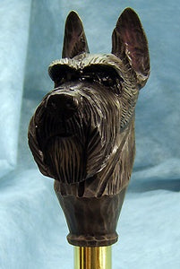 Scottish Terrier Walking Stick