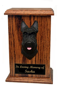 Scottish Terrier Memorial Urn