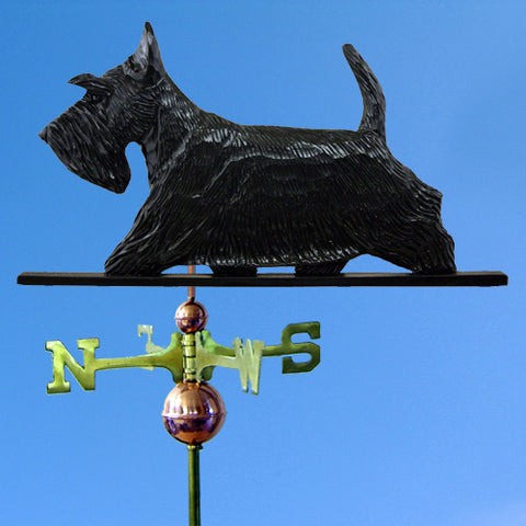 Scottish Terrier Weathervane - Michael Park, Woodcarver