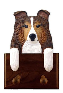 Shetland Sheepdog Leash Holder
