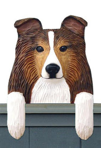 Shetland Sheepdog Door Topper