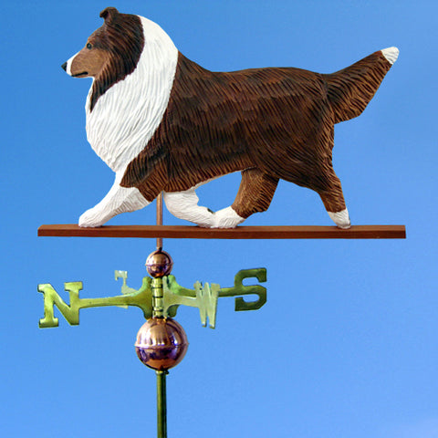 Shetland Sheepdog Weathervane - Michael Park, Woodcarver