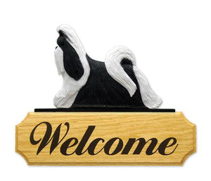 Shih Tzu DIG Welcome Sign