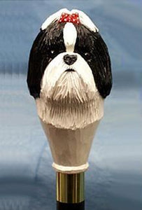 Shih Tzu Walking Stick