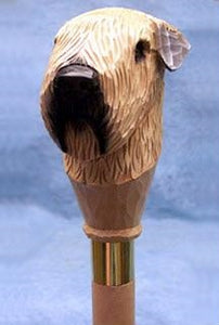 Soft Coated Wheaten Walking Stick
