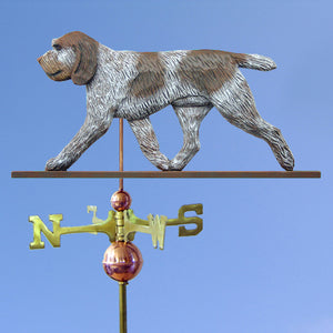 Spinone Italiano Weathervane - Michael Park, Woodcarver