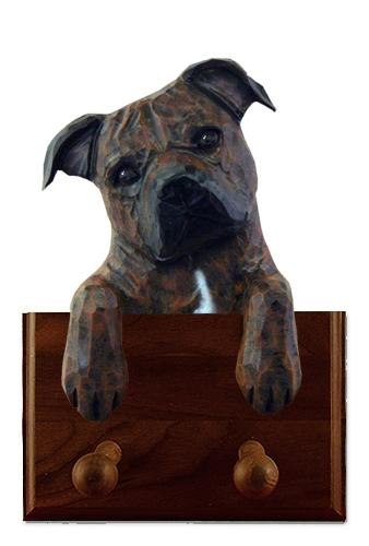 Staffordshire Bull Terrier Leash Holder