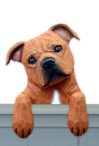 Staffordshire Bull Terrier Door Topper