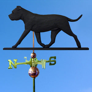 Staffordshire Bull Terrier Weathervane - Michael Park, Woodcarver
