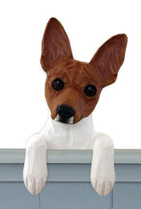 Toy Fox Terrier Door Topper