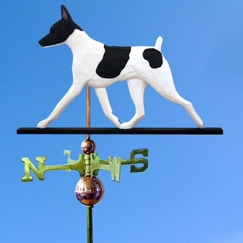Toy Fox Terrier Weathervane - Michael Park, Woodcarver