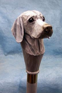 Weimaraner Walking Stick