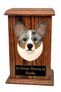 Welsh Corgi Cardigan Memorial Urn