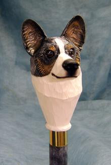 Welsh Corgi cardigan Walking Stick