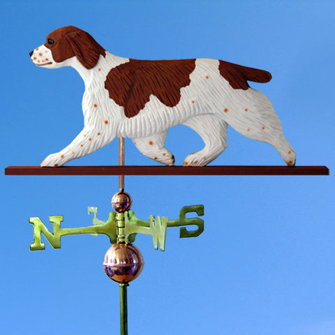 Welsh Springer Spaniel Weathervane - Michael Park, Woodcarver