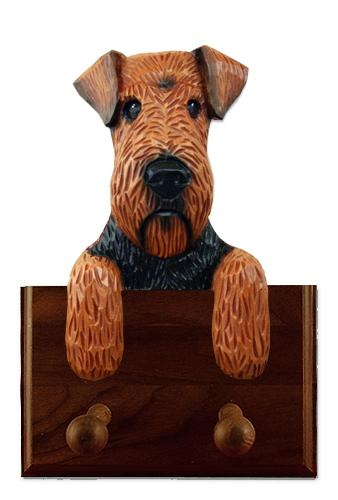 Welsh Terrier Leash Holder